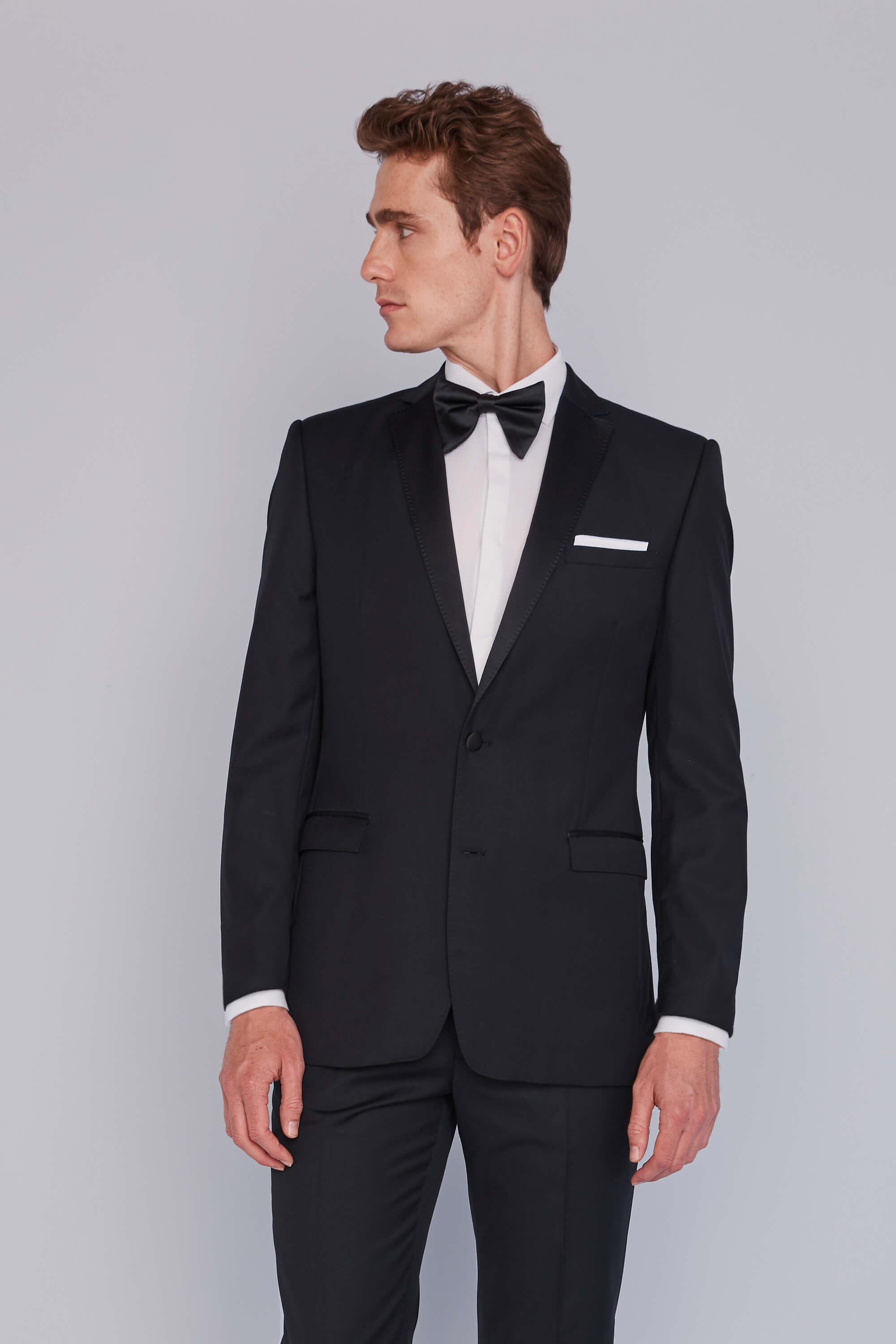 9384763b25 French Connection Black Tie Event Hire Suit | Moss Hire