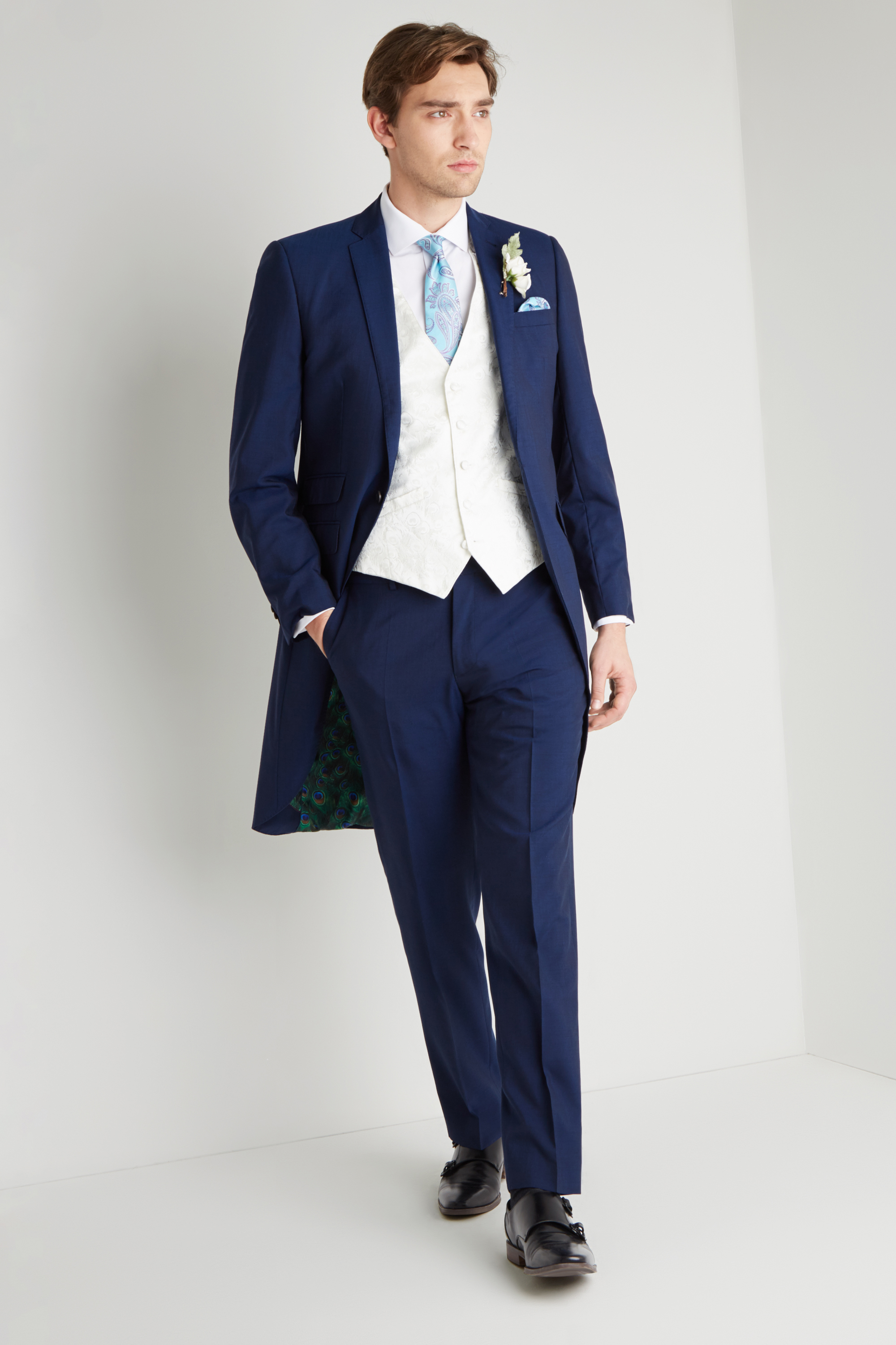 9a0568337 TED BAKER BLUE MORNING TAILS ...