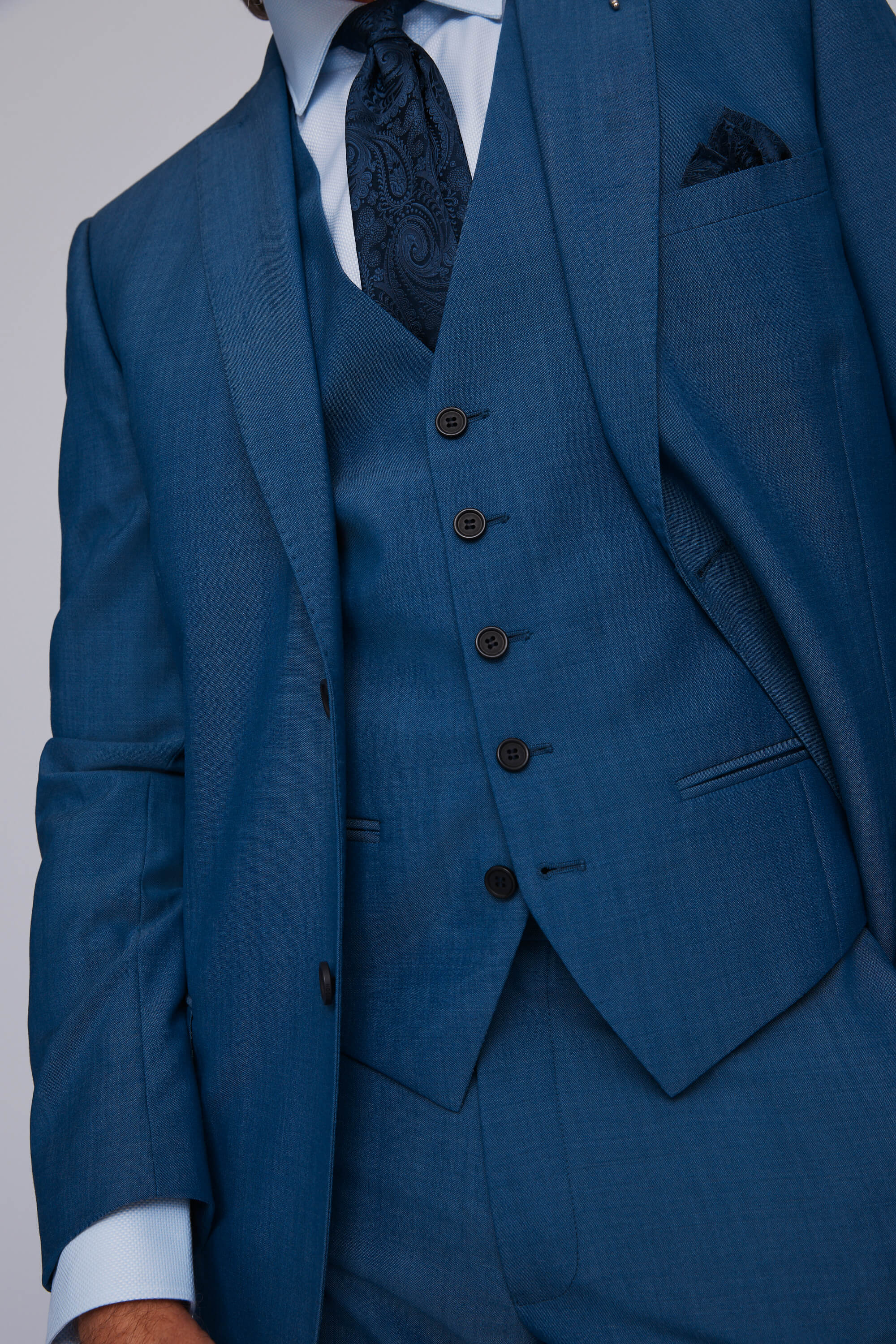 Ted Baker Faded Blue Lounge Jacket
