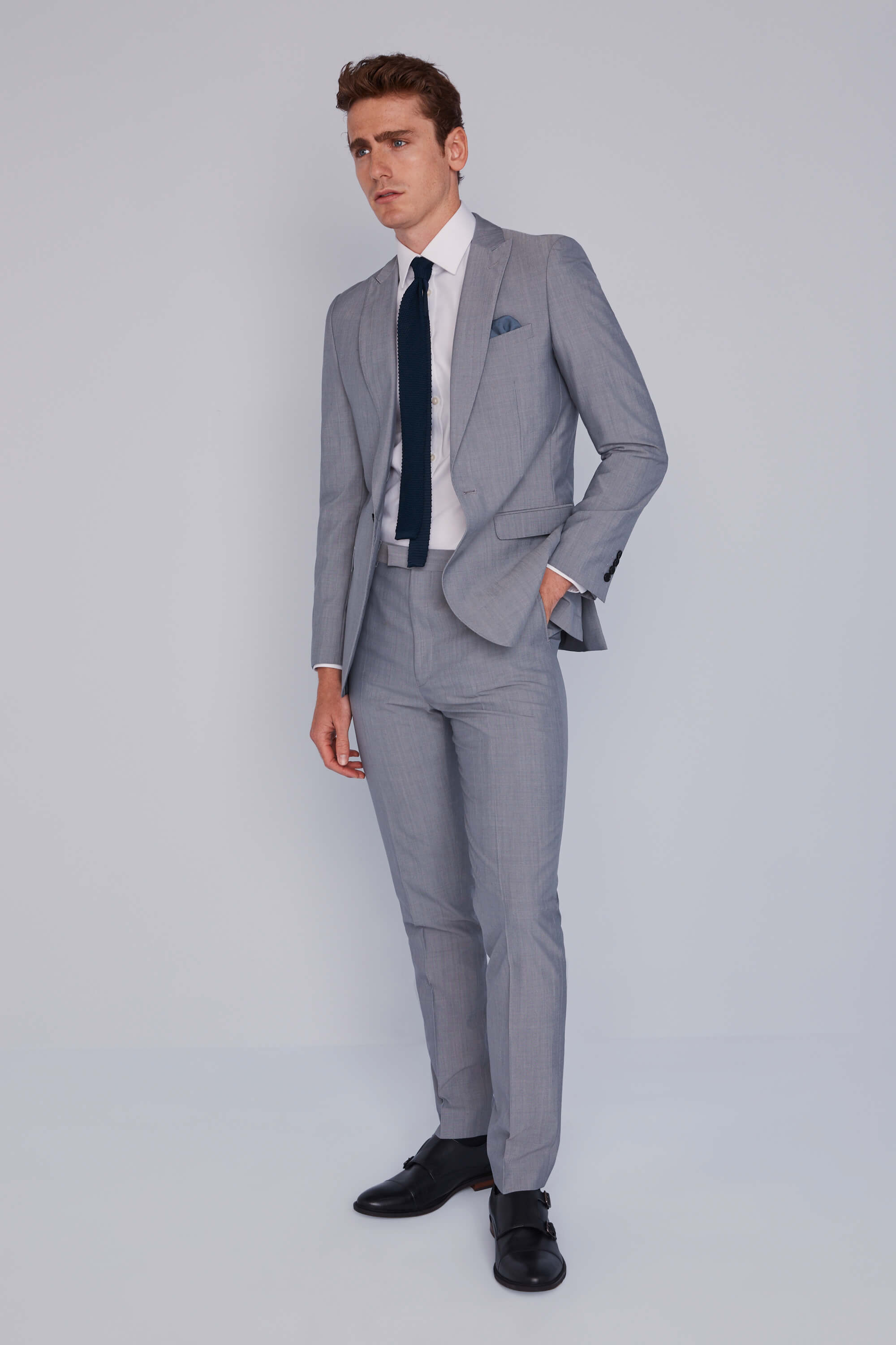 French Connection Silver Lounge Jacket