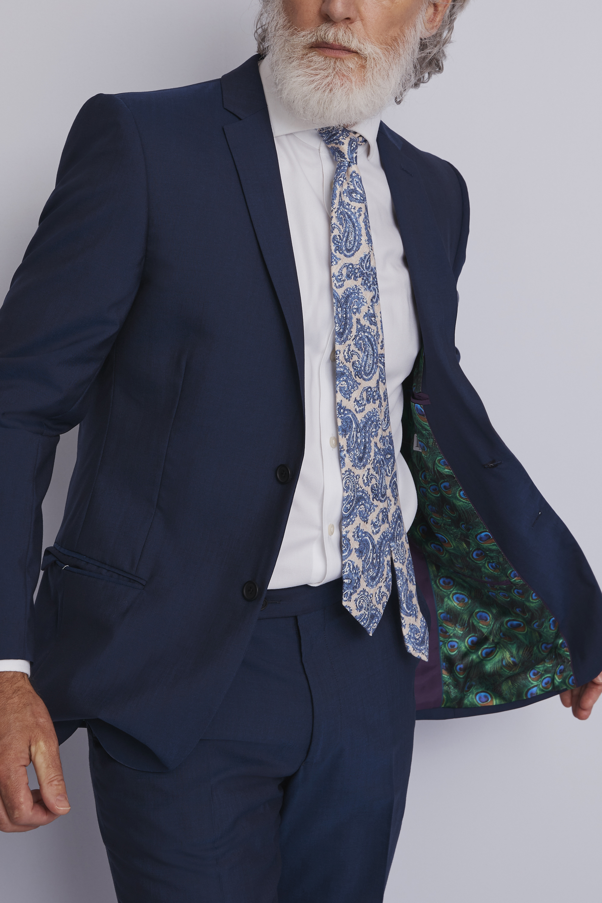 TED BAKER BLUE SUIT PACKMOSS.