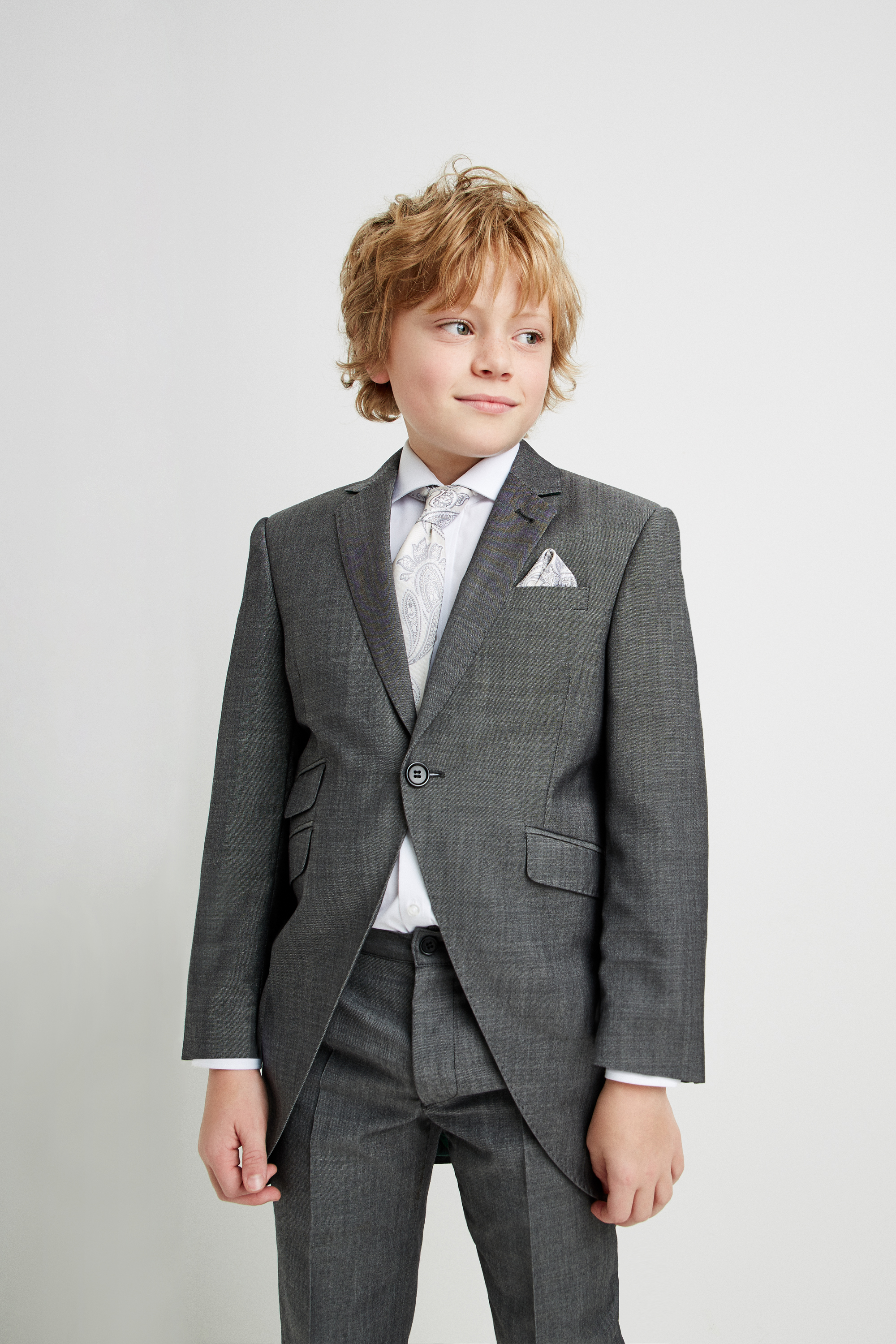Ted Baker Grey Morning Suit For Children Moss Hire