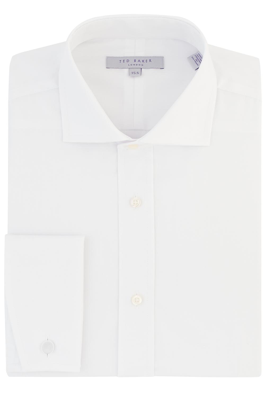 Jnr Ted Baker cut away collar day shirt